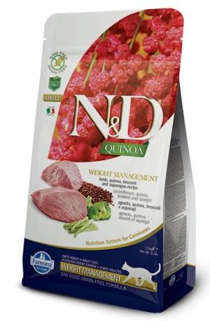 Natural & Delicious Cat Quinoa Weight Management Jagnjetina
