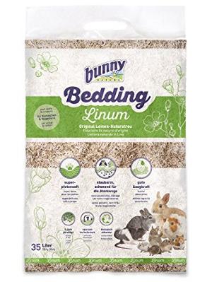 Bunny Bedding Linum - naravna stelja iz lanu