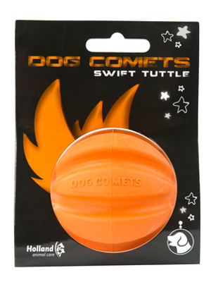 Dog Comets Swift Tuttle igrača za pse - oranžna fi 6cm,