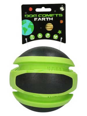 Dog Comets Planets Earth - zelena 14cm
