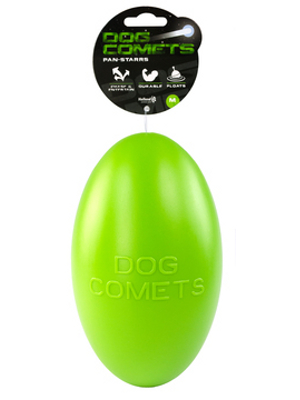 Dog Comets Pan-Stars igrača - jajce - zelena 20cm
