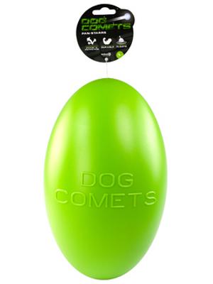 Dog Comets Pan-Stars igrača - jajce - zelena 30cm