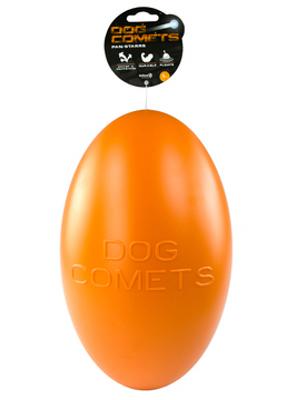 Dog Comets Pan-Stars igrača - jajce - oranžna 30cm