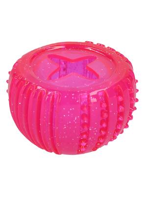 Dog Comets Vesta žoga za poslastice - roza 7cm
