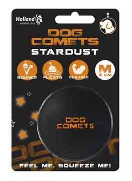 Dog Comets Stardust - črno-oranžna fi 6cm