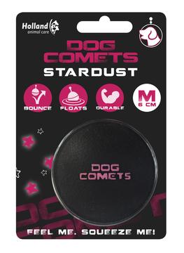 Dog Comets Stardust - črno-roza fi 6cm