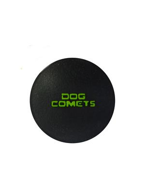 Dog Comets Stardust - črno-zelena fi 6cm