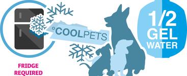 Hladilna žoga za psa 8cm - za zmrzovanje