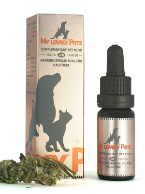 CBD konopljine kapljice 2% 10ml My Lovely Pets
