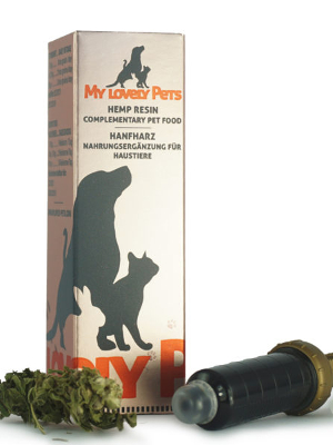 CBD konopljina smola 16% 5ml My Lovely Pets