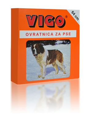 Vigo ovratnica za večje pse 65cm