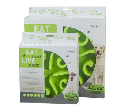 Posoda za počasnejše hranjenje Eat Slow Live Longer Original zelena