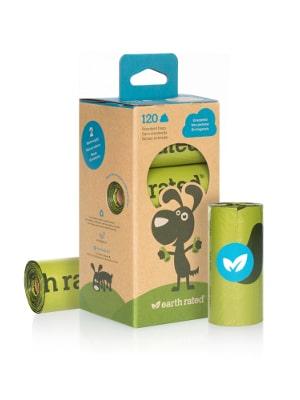 Biorazgradljive vrečke 8x15kos Earth Rated brez vonja