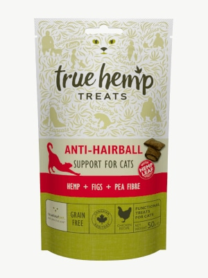 True Hemp Anti-Hairball 50g mačji priboljšek