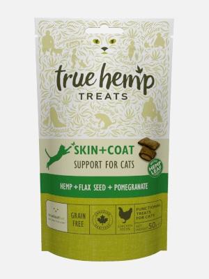 True Hemp Skin + Coat 50g mačji priboljšek