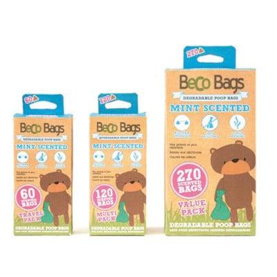 Beco Bags razgradljive vrečke za pasje iztrebke z vonjem po meti
