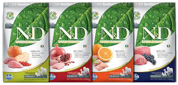 Natural & Delicious Grain-free