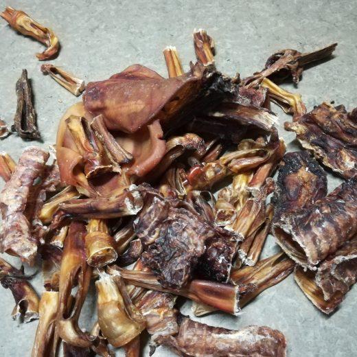 Posušena koža in meso